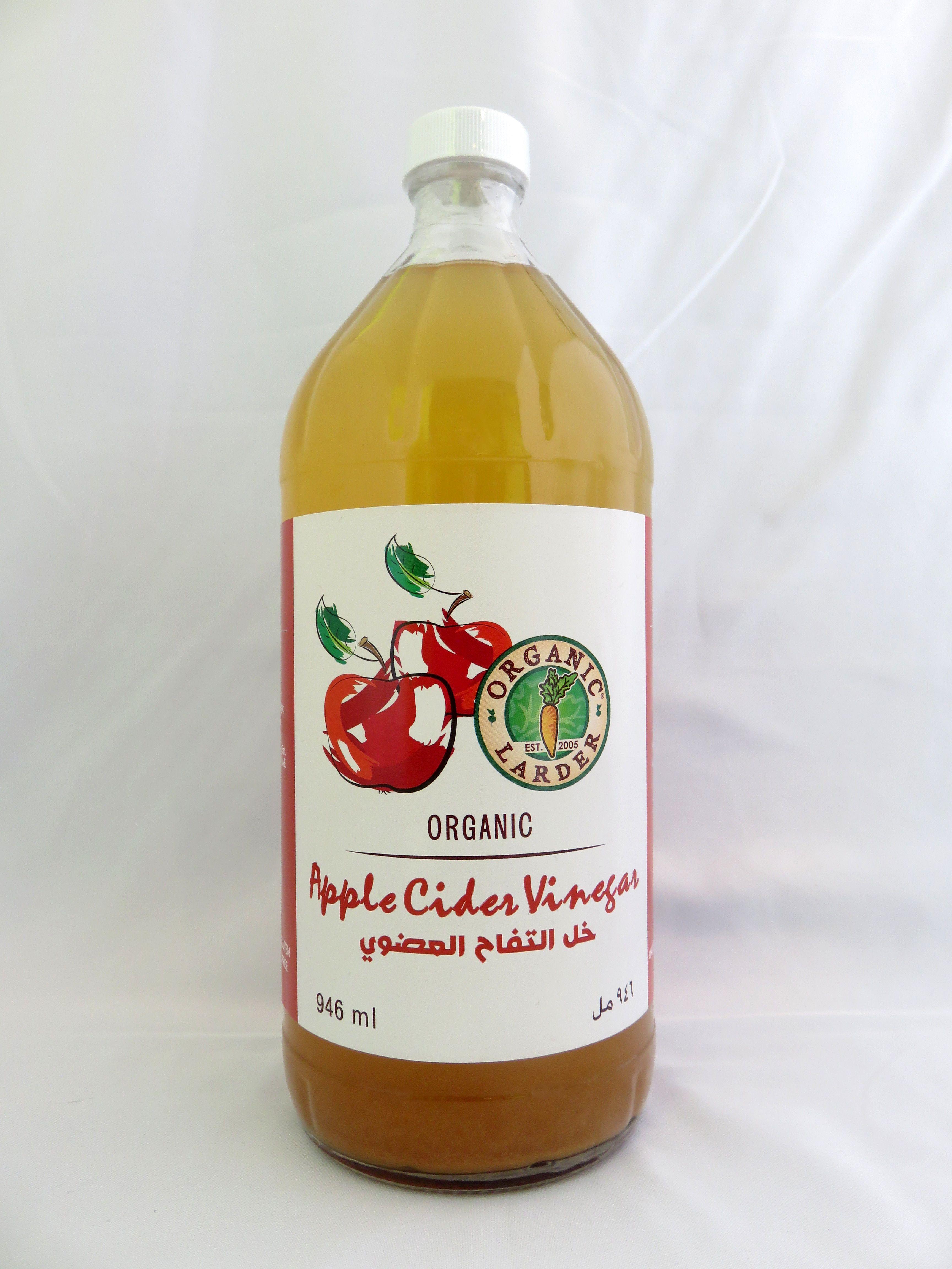 Organic Larder Apple Cider Vinegar Organic Apple Cider Health Promotion Honest Tea Bottle