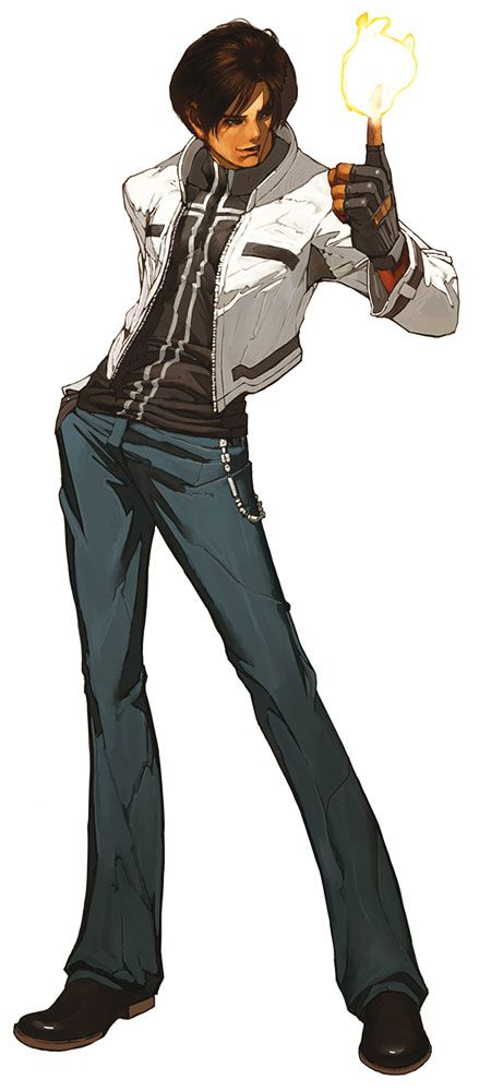Kyo Kusanagi Characters Art The King Of Fighters 2002 King Of Fighters Capcom Vs Snk Fighter