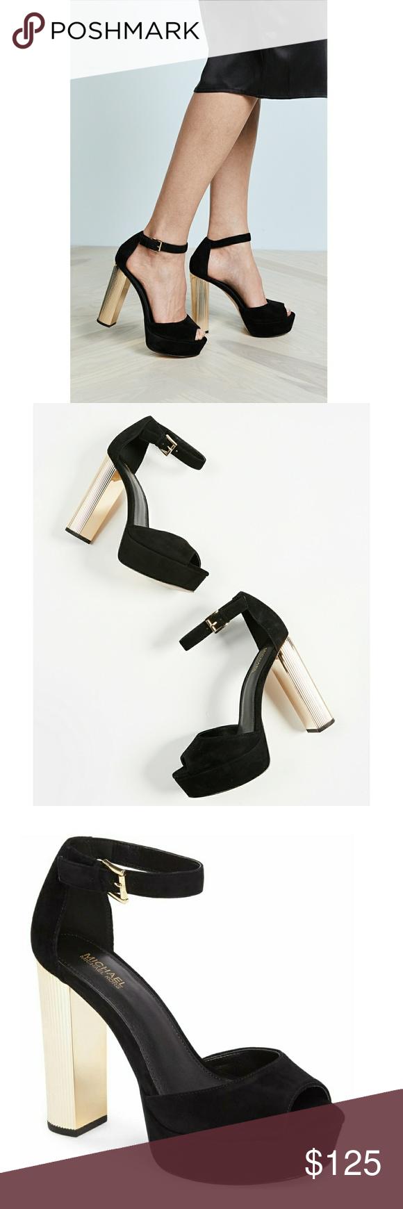 204d22c2dd39 MICHAEL KORS Paloma Platform Sandals Peep-Toe MICHAEL Michael Kors  Paloma  platform