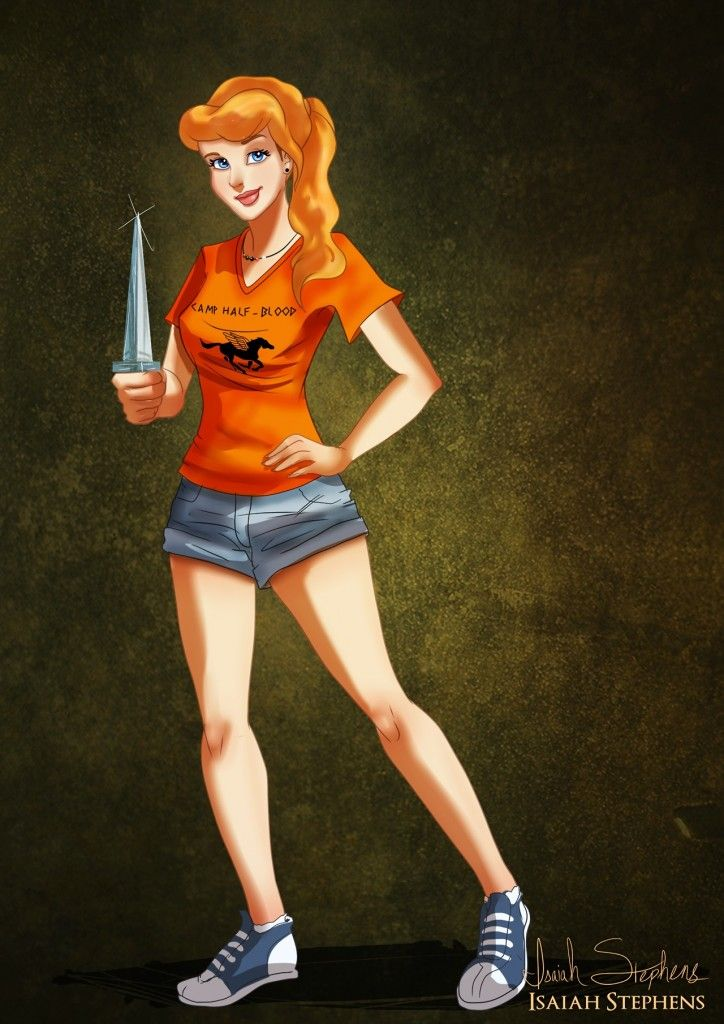 Cinderella as Annabeth Chase - by Isaiah Stephens
