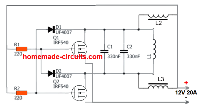 2 Simple Induction Heater Circuits Hot Plate Cookers Homemade Circuit Projects Electronic Circuit Projects Simple Circuit Projects Circuit Projects