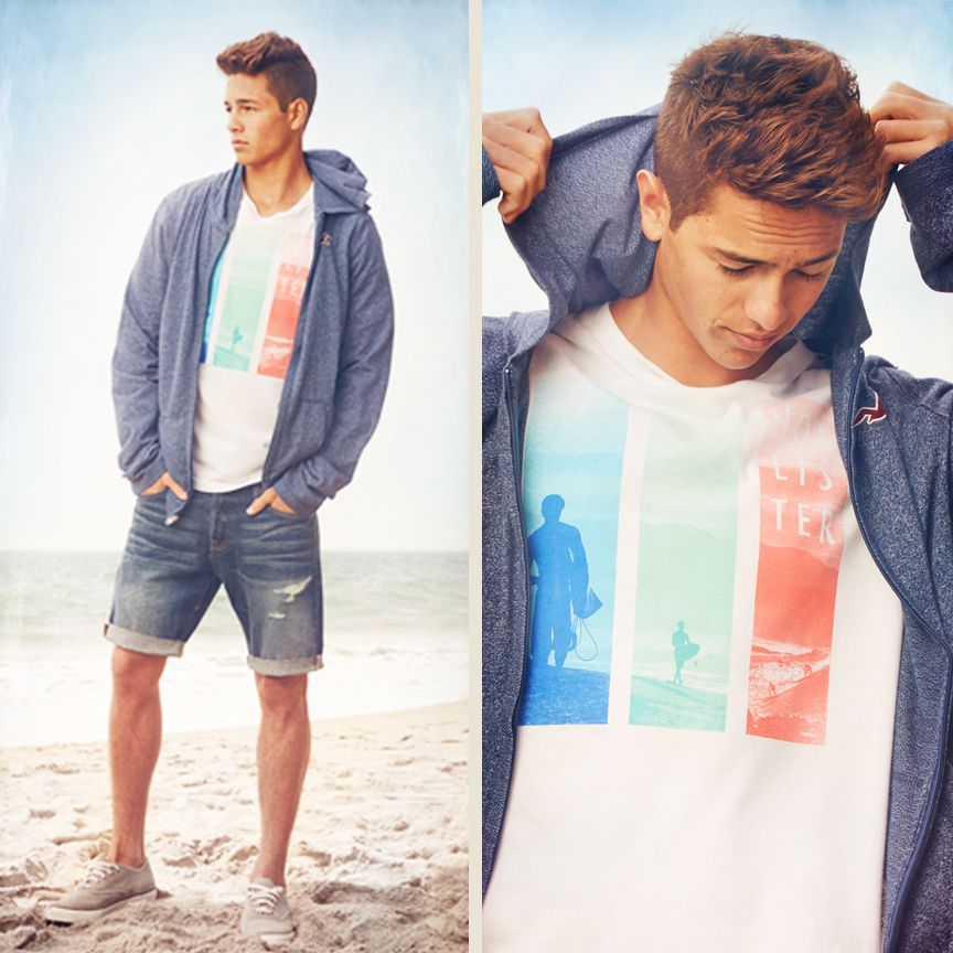 Skinny,tan,sort of blonde,white,tall, This summer clothes is targeted for mean who look like this & not for other types of mean,saying that only men who look like this,will look better in it than other men #NotBuyingIt