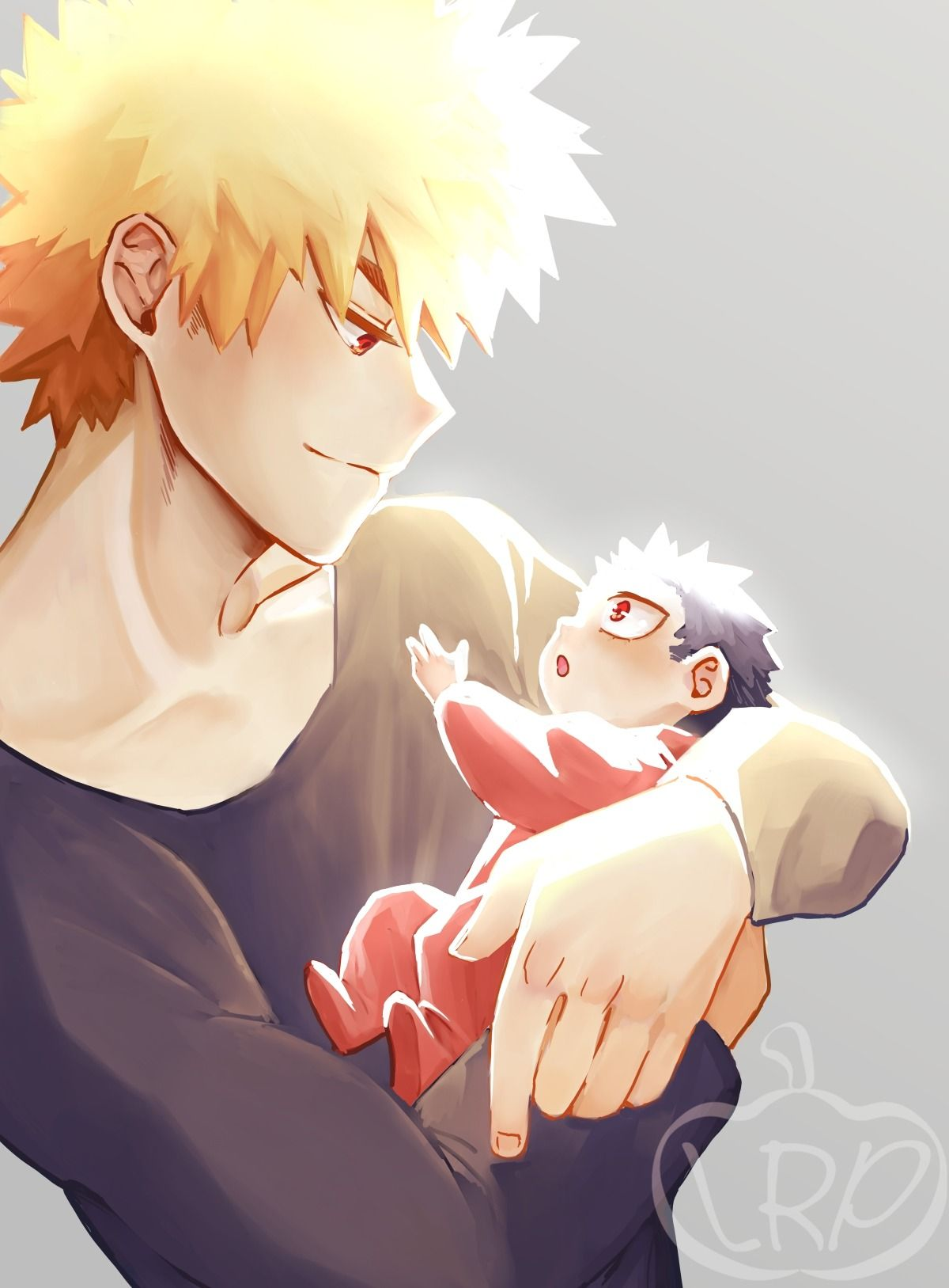 I'm stuck in a loop of wholesome bakumomo babies  I'm finally