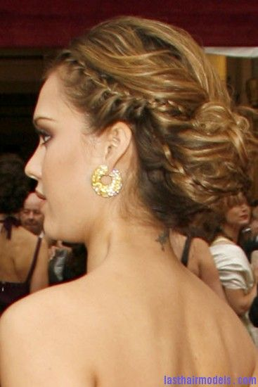 jessica alba hairstyles with braids | ... jessica alba ...