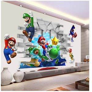 Super Mario Bros Kids Removable Wall Sticker images