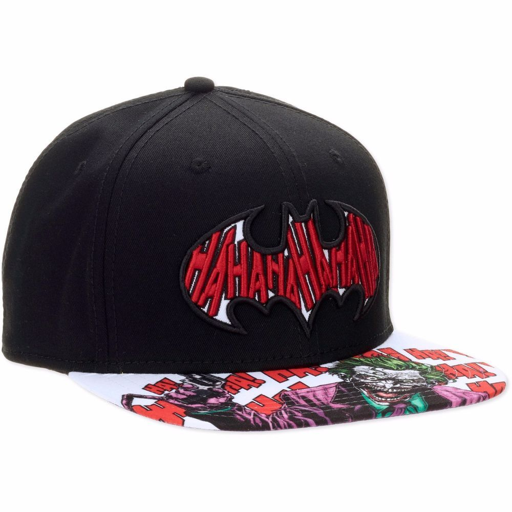 DC Comics Suicide Squad Joker HaHaHa Bioworld Snapback Hat ...