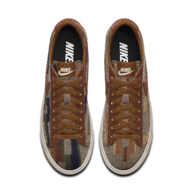 quality design 44a47 38d82 Nike Blazer Low Pendleton iD Shoe | My Style | Pinterest | Nike ...