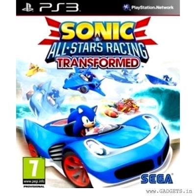 Sonic And All Star Racing Transformed Ps3 All Star Sega Sonic