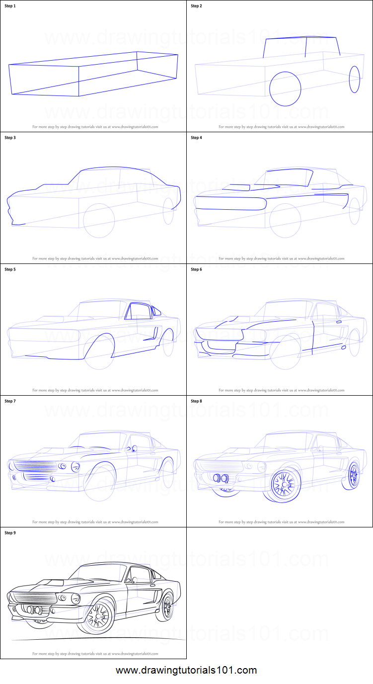 Image result for Steps to Draw Easy Cars 1973 | Cars in
