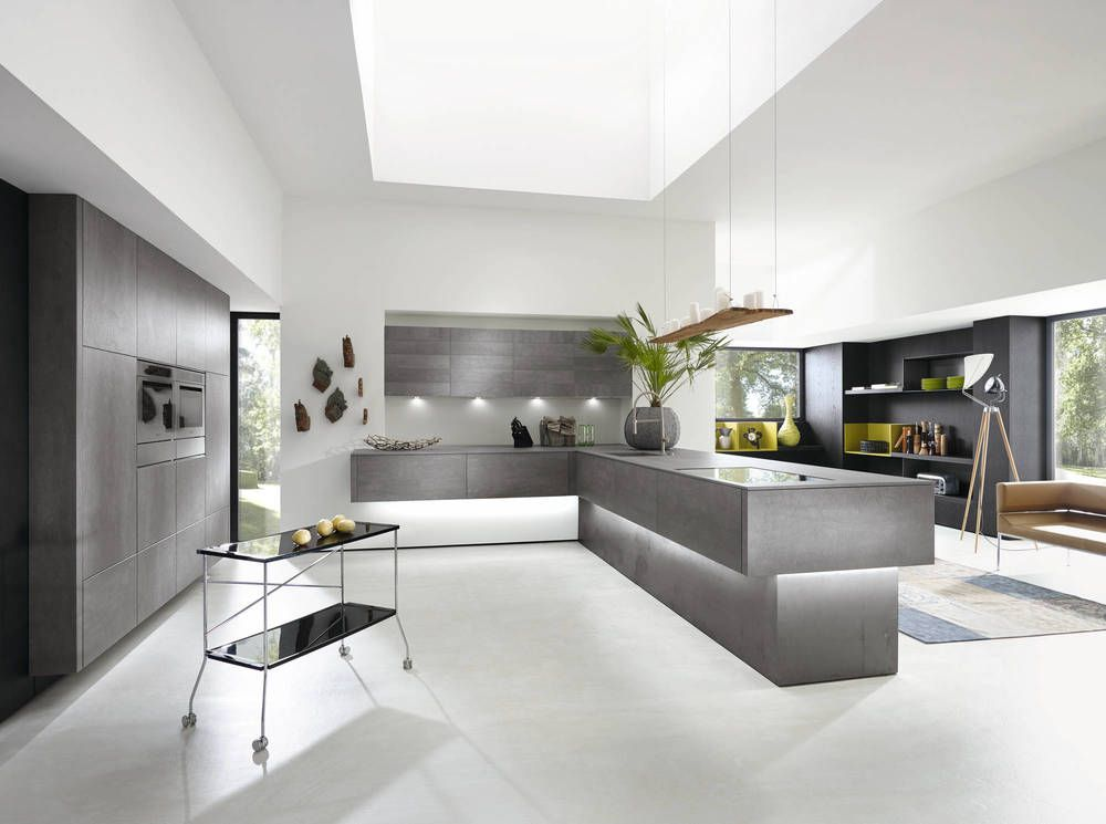 ALNO kitchen. Available from German Kitchens Limited in