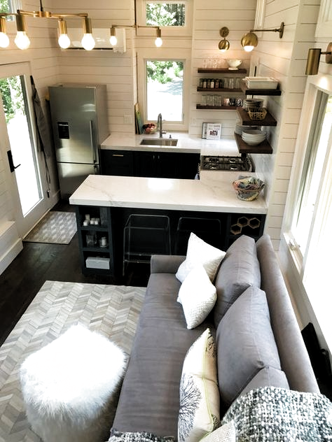 Whats in our new Tiny House Kitchen #homedecor #homedesign #kitchen #smallspaces #tinyhouse