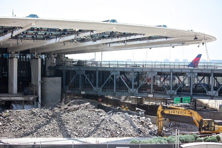 """""""A national tragedy,"""" says Kalev Savi, one of the preservationists, who started a citizens' initiative to save the terminals on the demolition. """"It breaks your heart."""""""