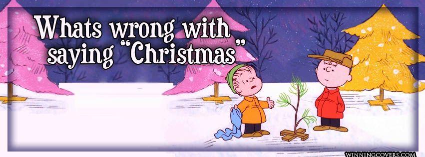 Peanuts Facebook Covers | Peanuts Charlie Brown Merry Christmas ...