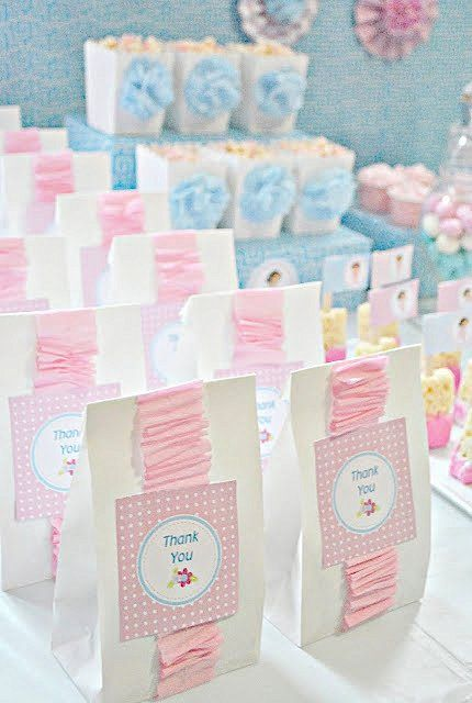 Girly Dora The Explorer Birthday Party Favor Bags Baby Shower