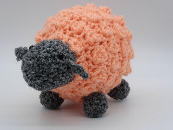 Crochet Sheep Amigurumi Sheep Sheep Toy  Stuffed by AlexsGiftShop
