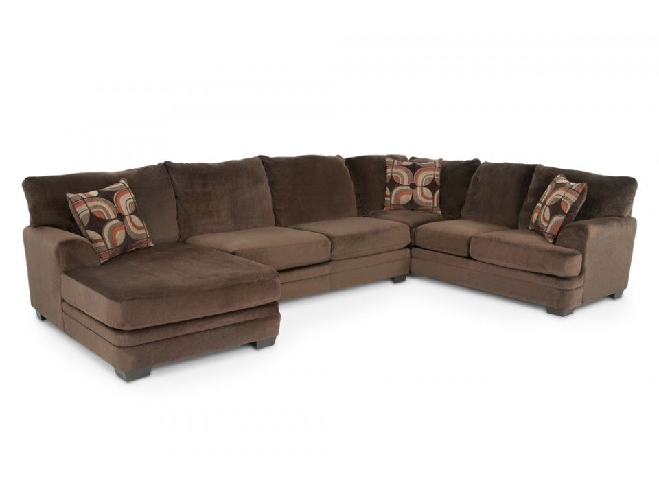 Charisma 3 Piece Right Arm Facing Sectional Sectionals