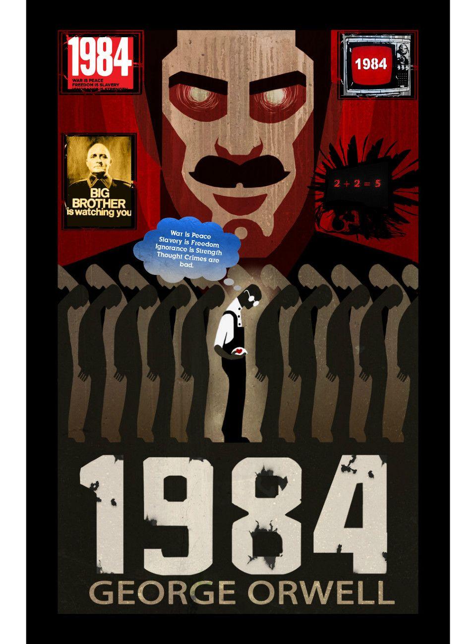 1984 (8 de junio 1949) de George Orwell.
