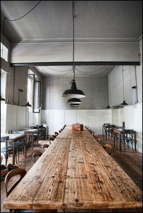 Table bois brut d co maison table rustique et table commune - Table cuisine bois brut ...