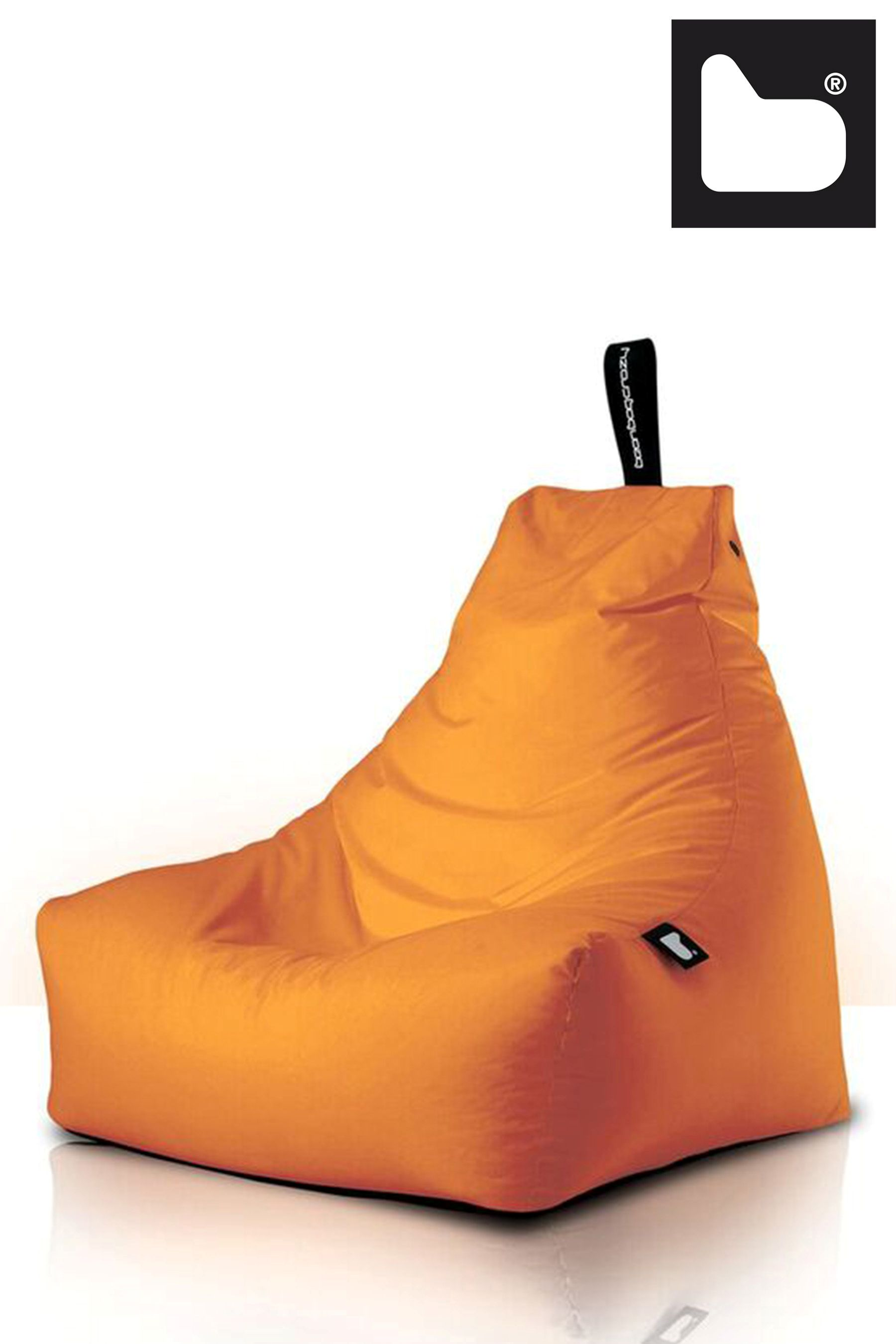 Cool Mighty Outdoor Bean Bag By Extreme Lounging Orange Cjindustries Chair Design For Home Cjindustriesco
