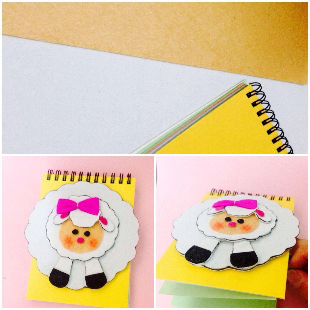 عمل دفتر رسم صغيرة للأطفال Notebook