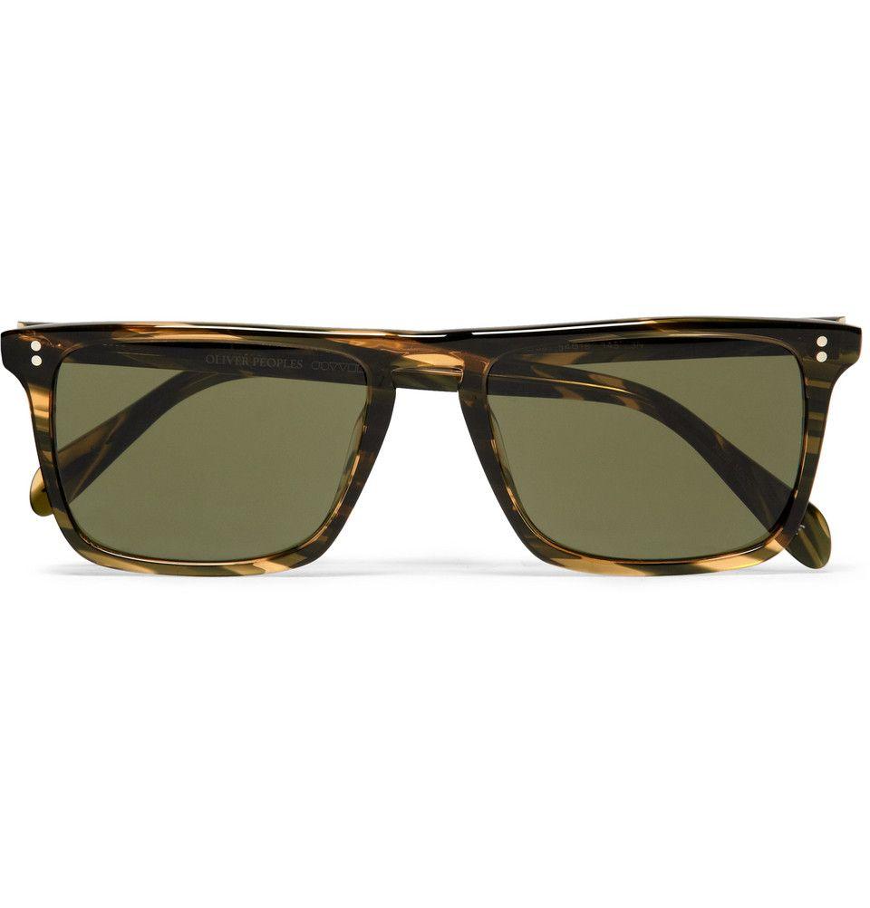 6e1c55f648d Oliver Peoples Bernardo Square Frame Sunglasse