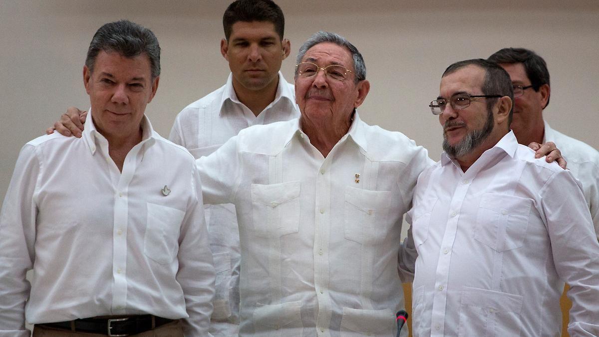 Breaking News: Kolumbiens Regierung und Farc schließen Frieden