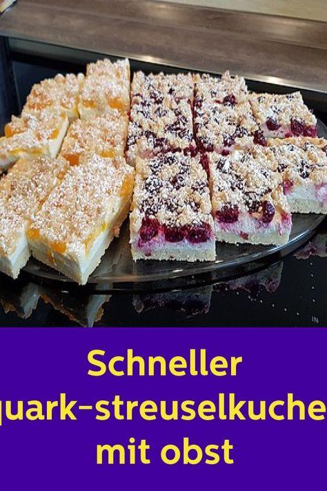 Pin Von Liane Rohr Auf Kuchen Streuselkuchen Mit Obst Streusel Kuchen Quark Streuselkuchen