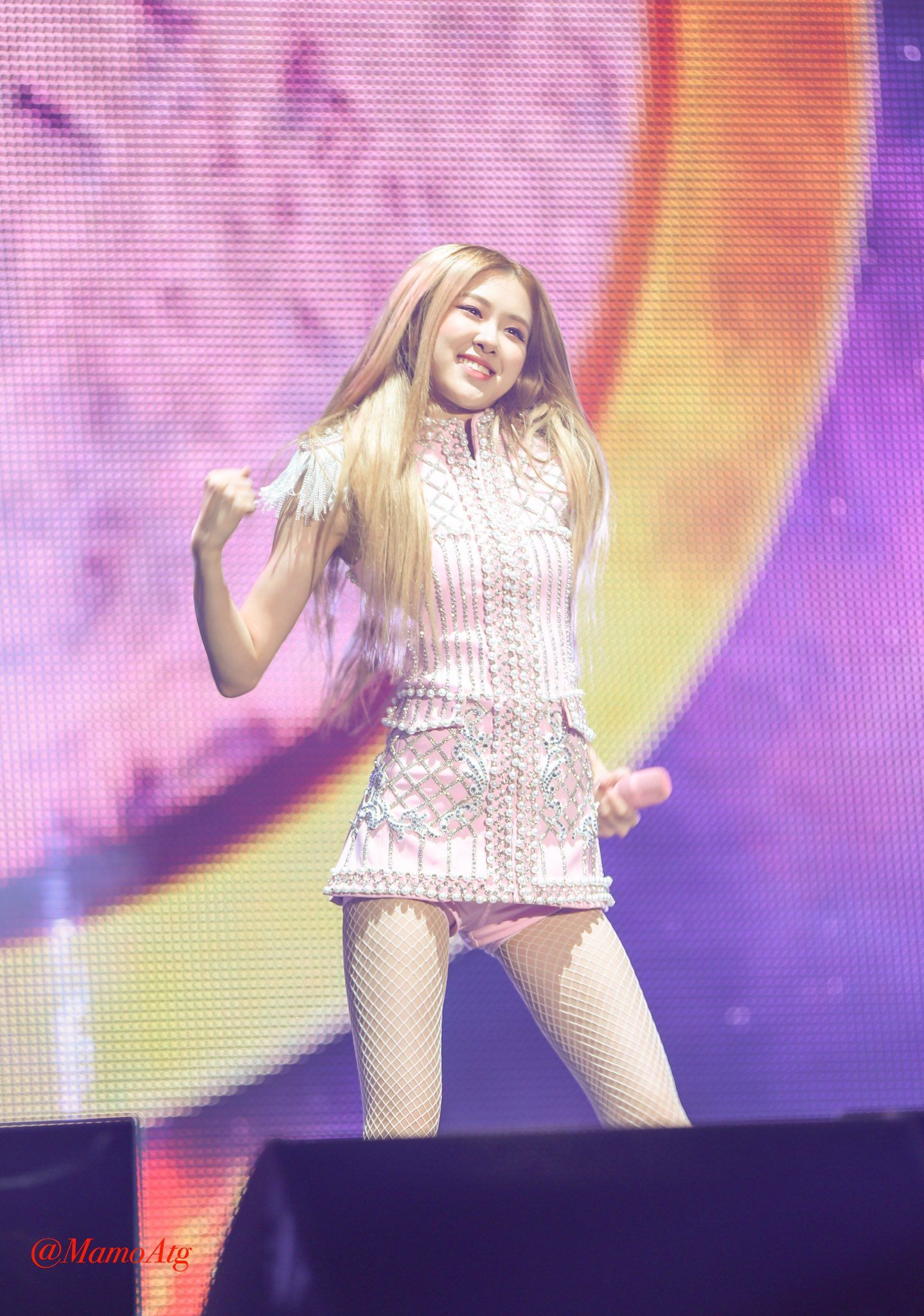 181110 BLACKPINK's 'IN YOUR AREA' Concert Seoul - Day 1 #rose
