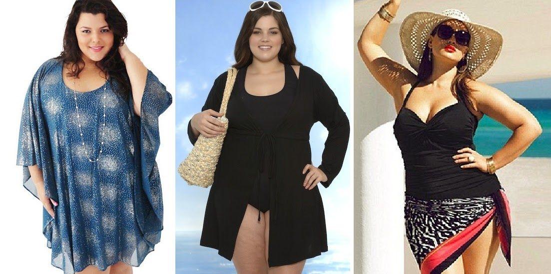 Imagenes de vestidos para playa para gorditas