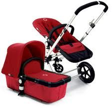 The Bugaboo Stroller. I <3 these and we already got one :)  http://highheelsandbabybooties.blogspot.com/2013/08/test-driving-strollers.html
