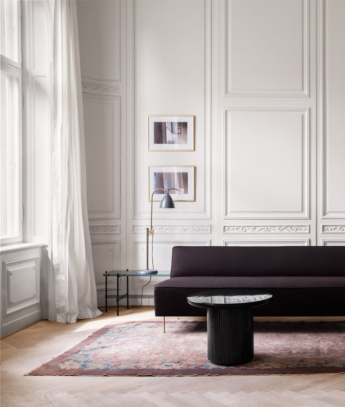 The Ultra Sleek Modern Line Sofa Designed By Greta Grossman In 1949 | DSHOP