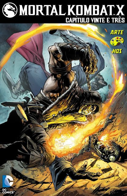 SAM-COMICS: MORTAL KOMBAT X 023 (2015)