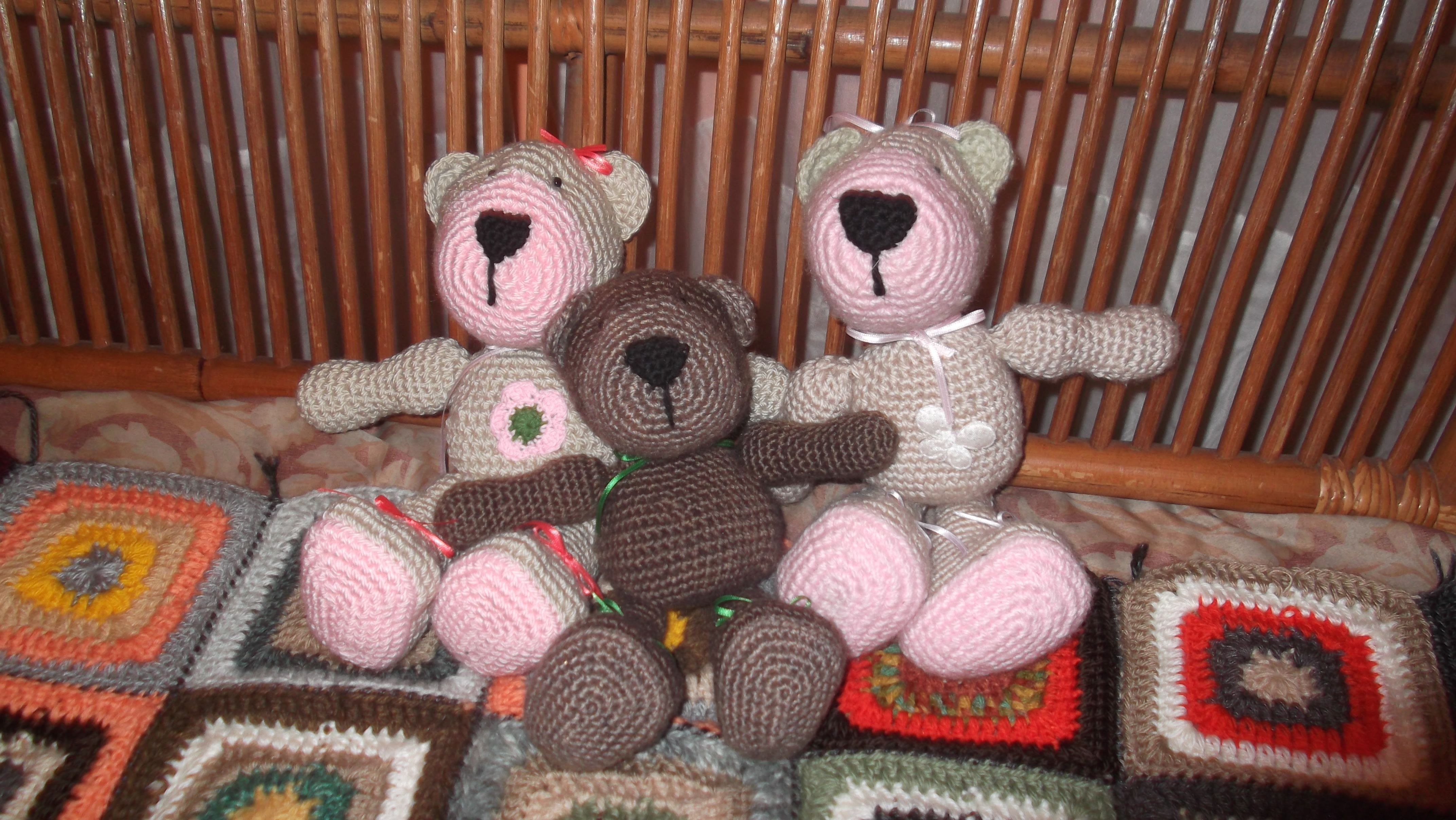 Tejiendo Peru Tutorial Amigurumi : Muñecos amigurumis tutorial tejiendoperu ositos teddy