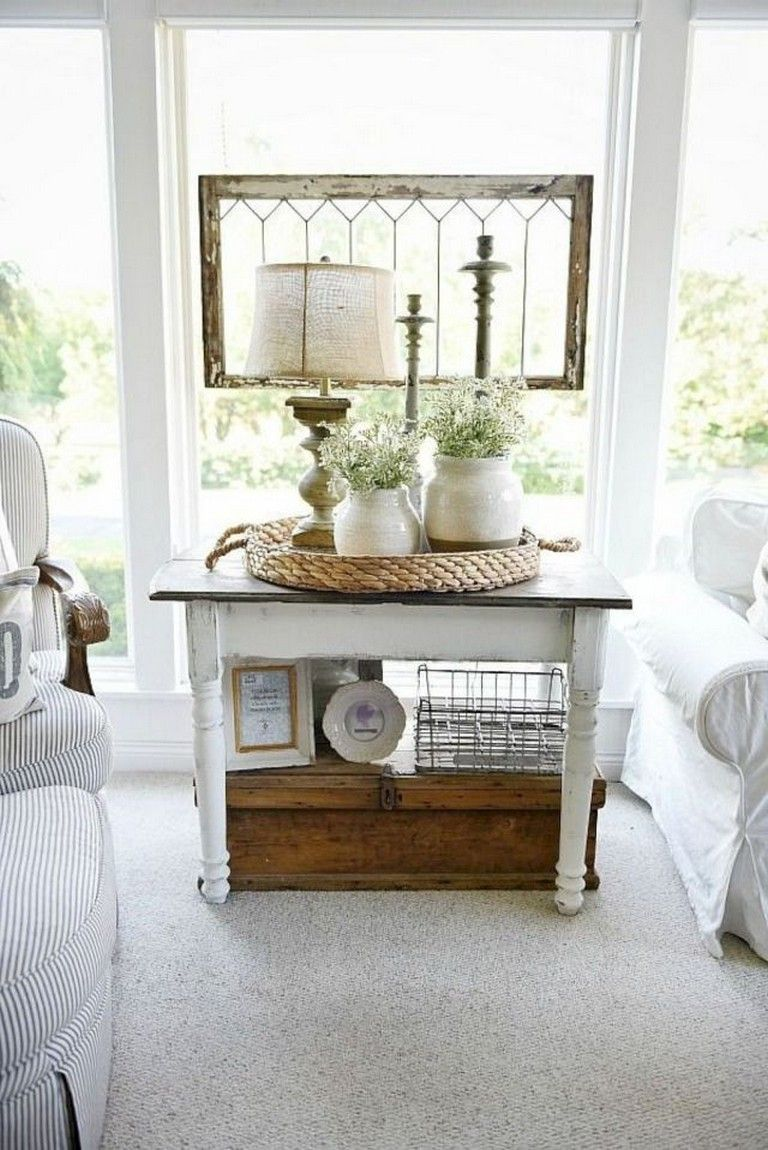 43+ Amazing Farmhouse Sunroom Makeover Ideas Page 35 of