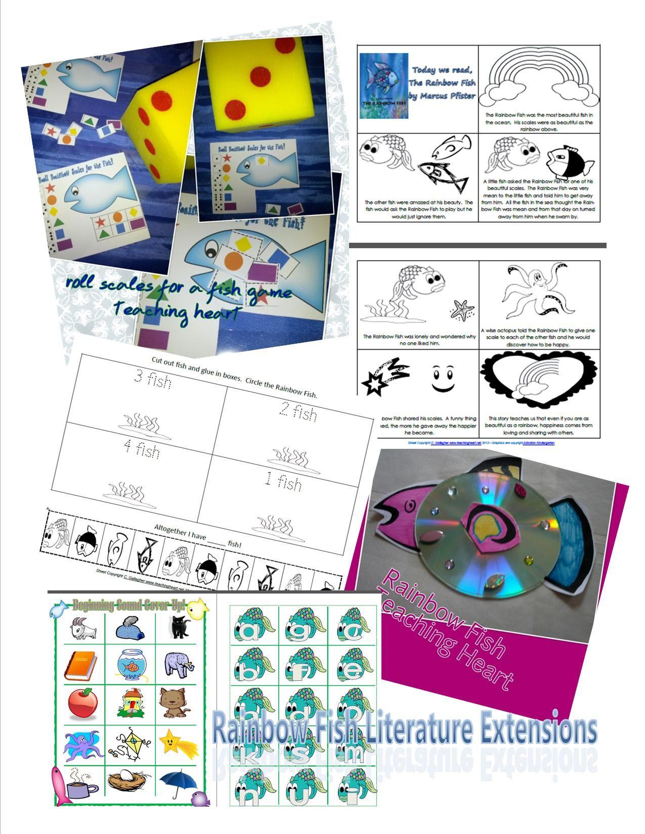 Rainbow Fish Literature Extensions Galore