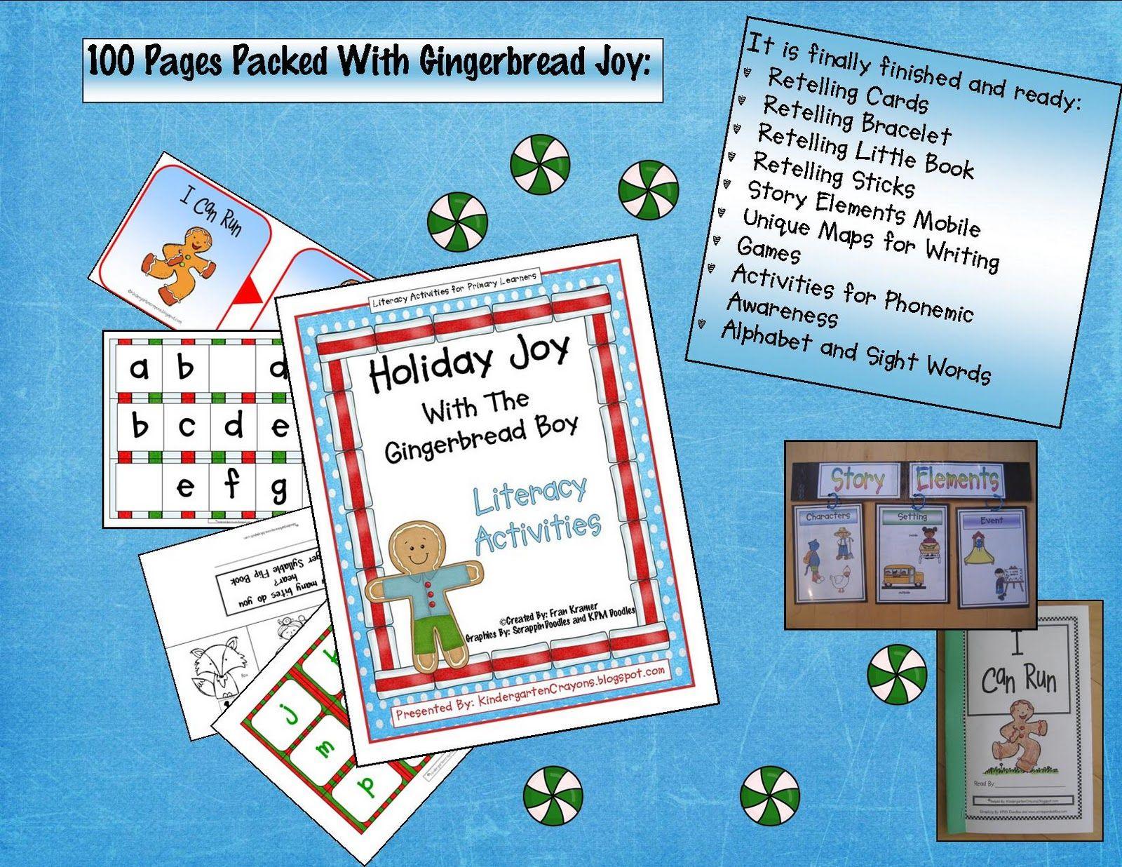 Kindergarten Crayons | Gingerbread | Pinterest | Kindergarten ...