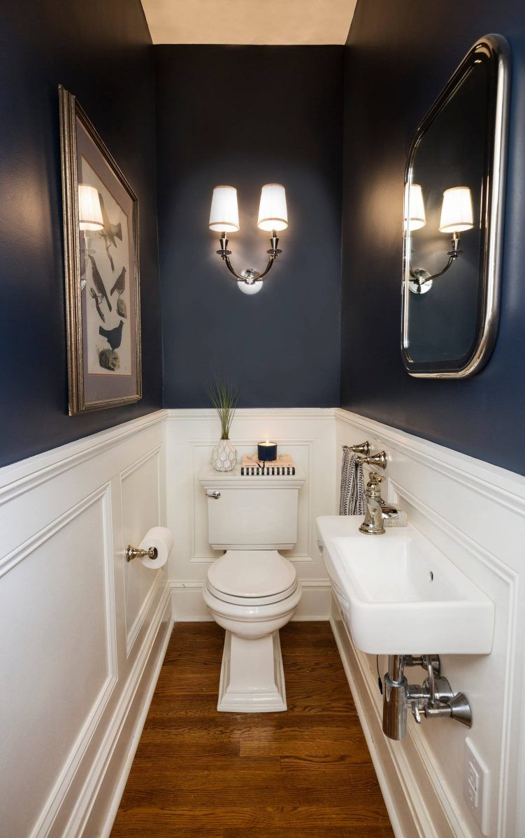 41 Cool Half Bathroom Ideas And Designs You Should See is part of Half bathroom decor - Half Bathroom Ideas  It is a half bathroom if it has no bathing essential  However,…