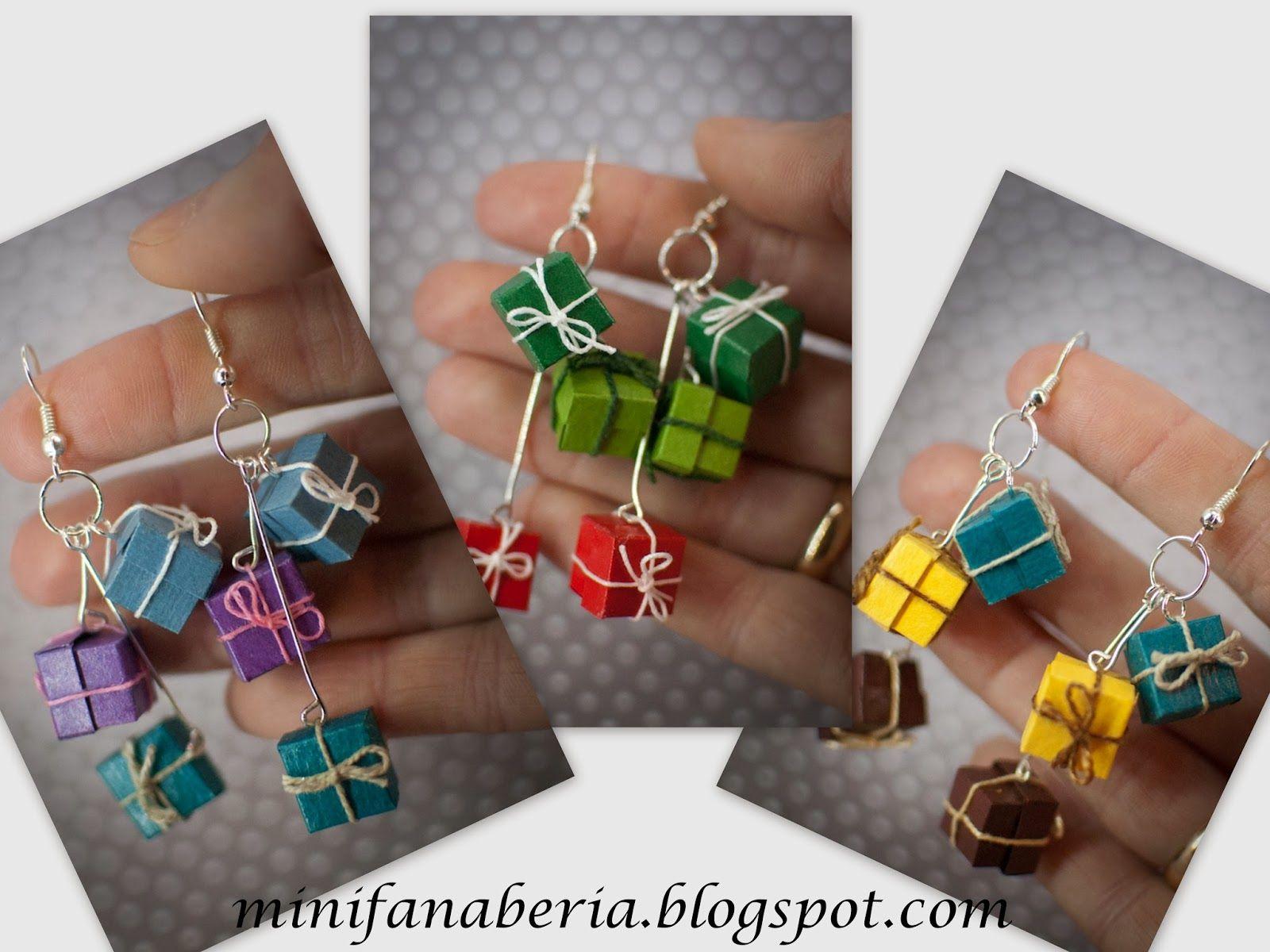 kolczyki+miniaturowe+prezenty+handmade+earrings+gift+christmas+świąteczne+05.jpg (1600×1200)