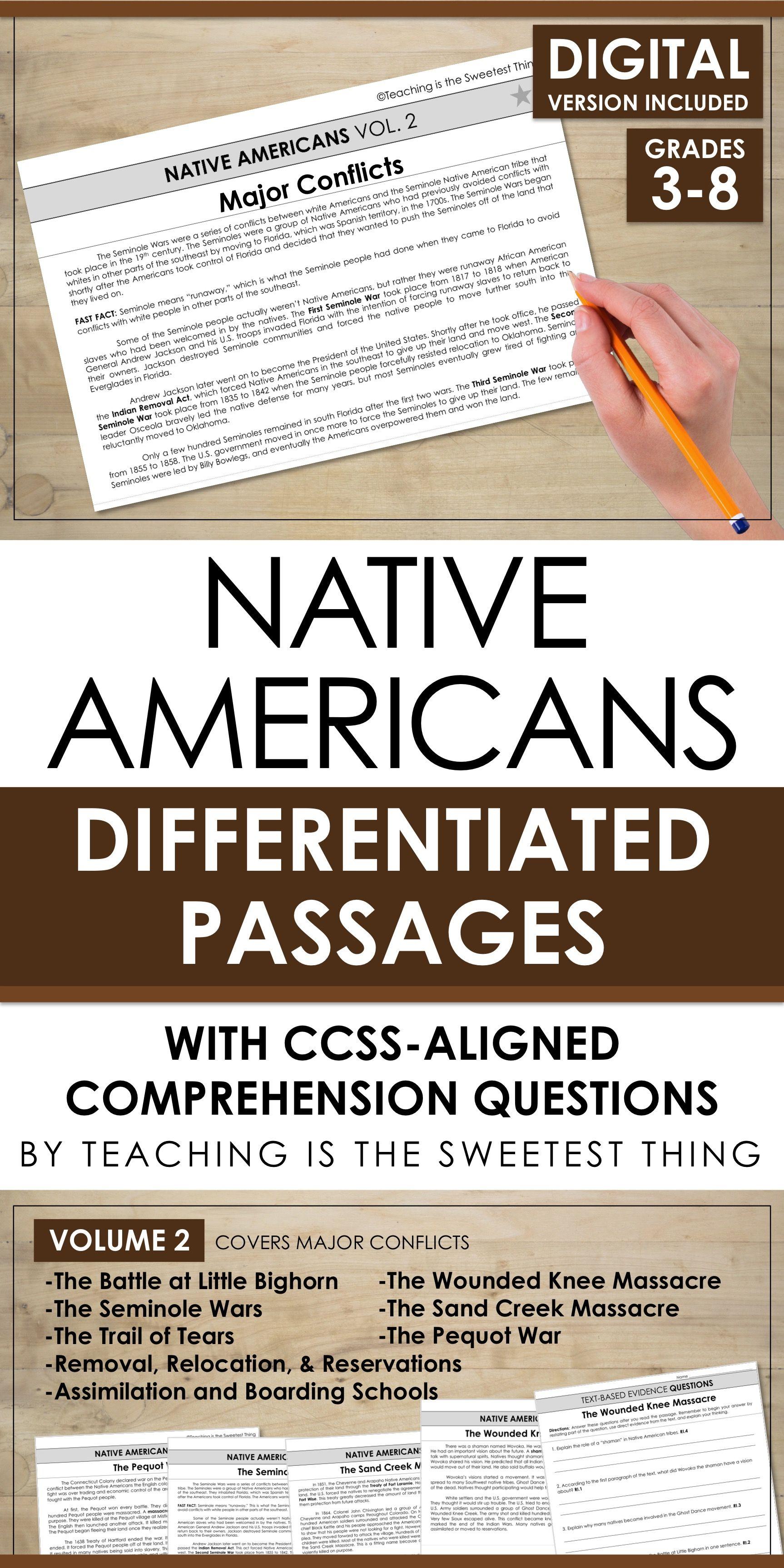 Native Americans Passages Vol 2