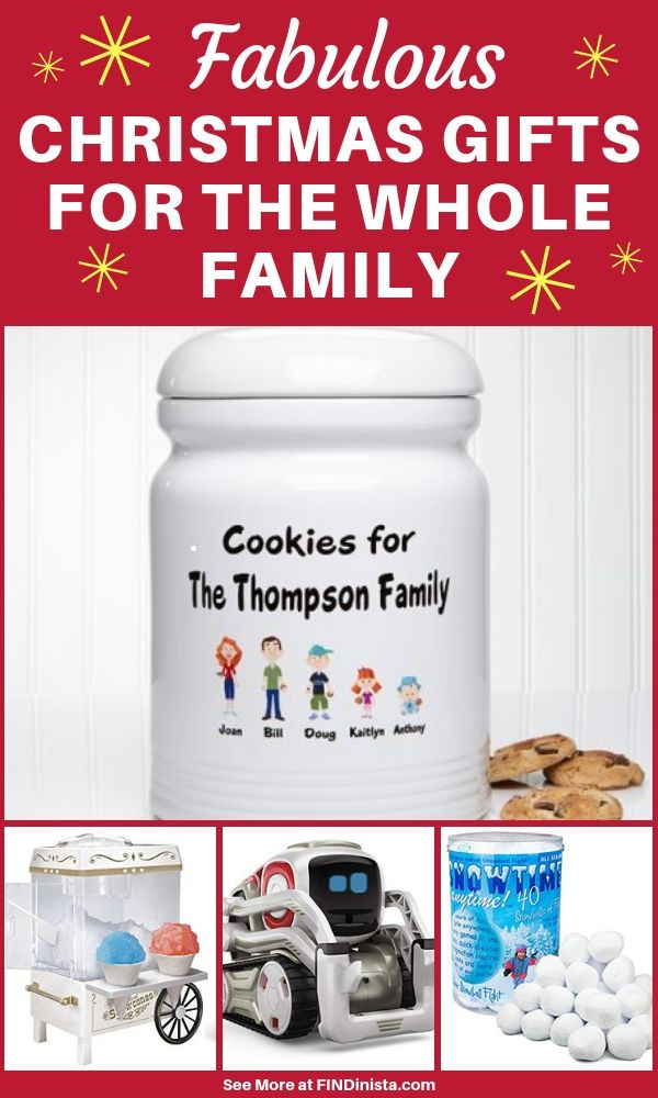 88e18bad3fec1 Christmas Gifts for the Whole Family - Looking for one Christmas gift that  the whole family will love  Check out these fabulous whole family Christmas  gift ...