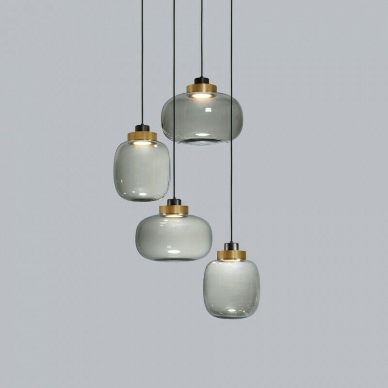 Brief Contemporary Hanging Glass Pendant Lamp Lights Fixtures Led Lighting New Unbranded Contemporary Lampen Esszimmer Lampen Wohnungsbeleuchtung