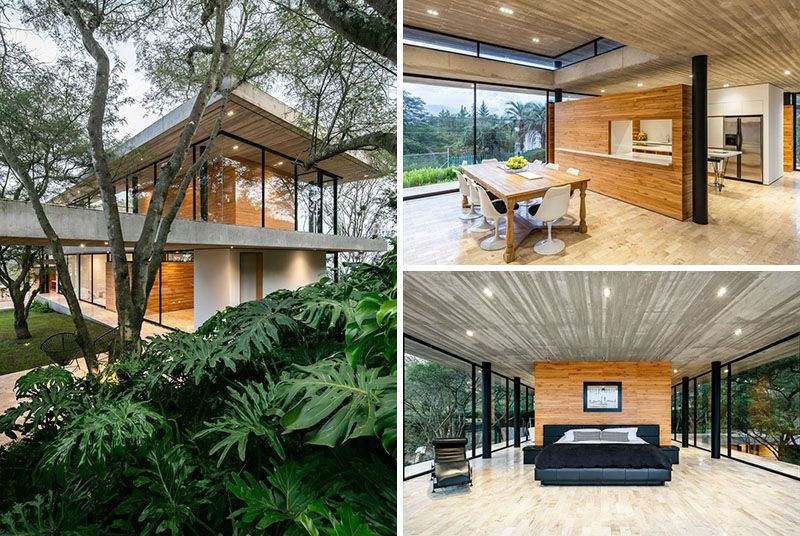 The Design Of The Tacuri House Was Inspired By The Surrounding Landscape In 2020 House House With Balcony Modern Cottage