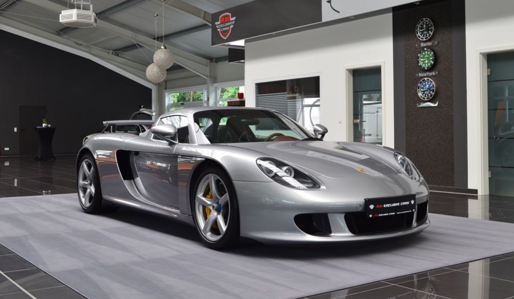 2005 Porsche Carrera Gt For Sale At R W Exclusive Cars For Eur 750k