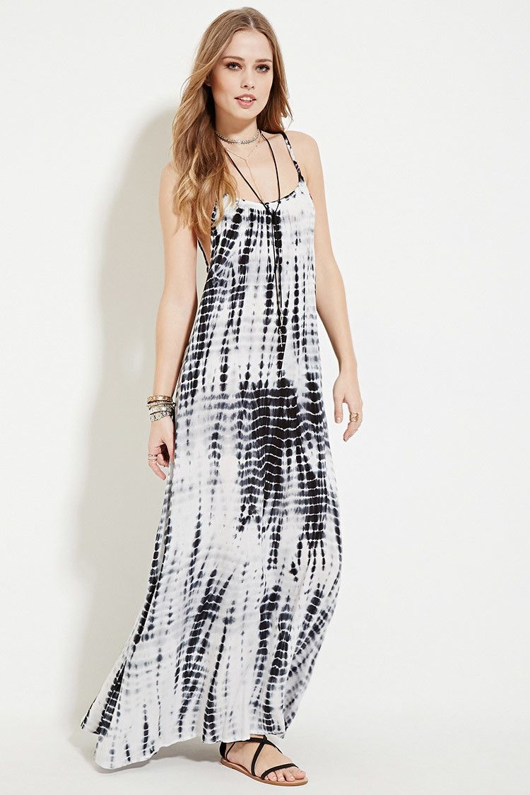8ceb6c8f125 Boho Me Tie Dye Maxi Dress