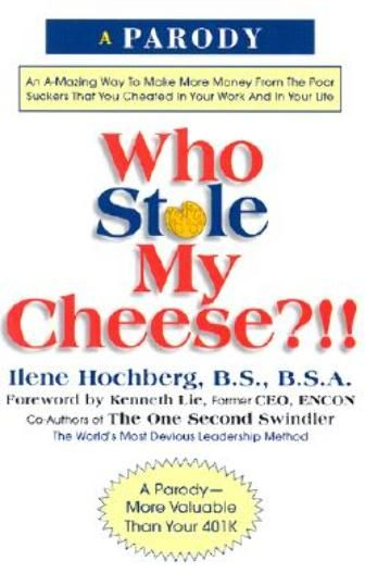 *****READ***** Who Stole My Cheese a book on change
