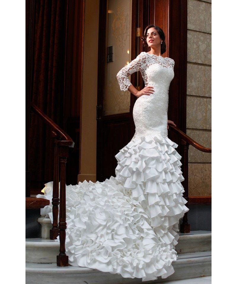 silvia navarro novia | novias flamencas | novios, boda y vestidos