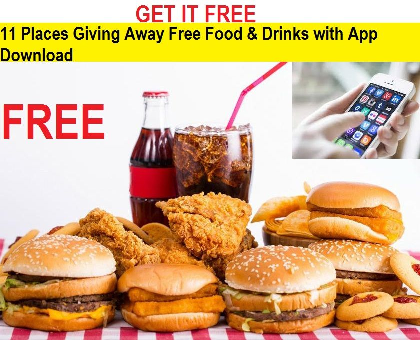 Apps With Free Food Free Food Apps 2018 Download App And Get