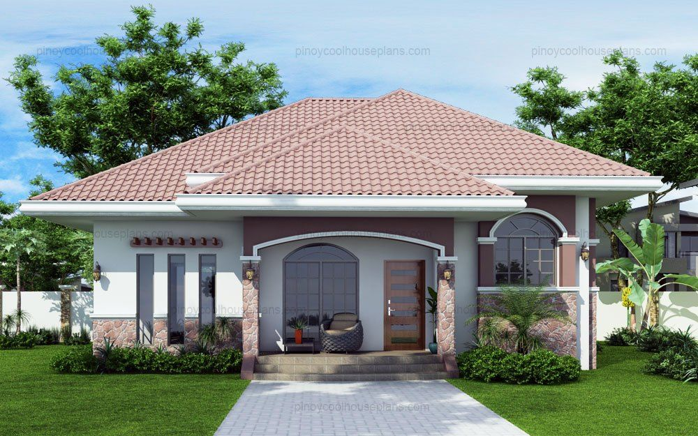 10 Bungalow Amp Single Story Modern House With Floor Plans Modern Bungalow House Modern Bungalow Bungalow House Design