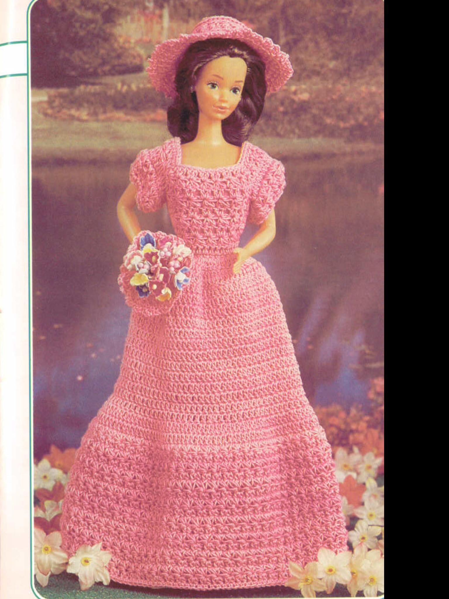 Pin by Candy on Barbie crochet world Crochet barbie