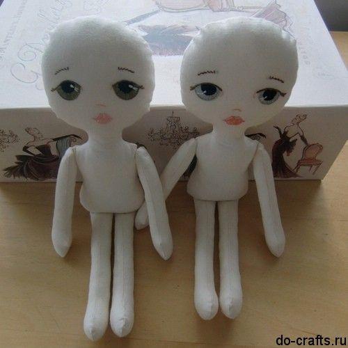 Как из ткани сделать куклу 56
